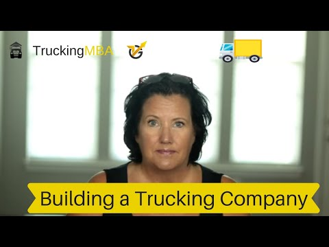 Starting a trucking company with Lauren Hood of VLocity Group.